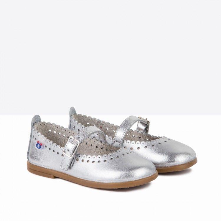 19705353d Merceditas de bebé piel plata - Calzado - Bebé - Osito by Conguitos  calzado
