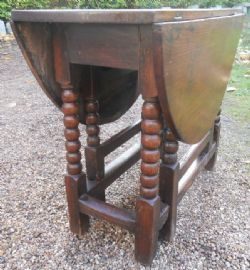 Best Oak Barley Twist Gateleg Table 77560 Sellingantiques 400 x 300