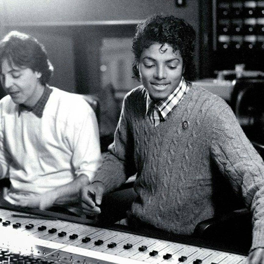 Mj Artists With Paul McCartney