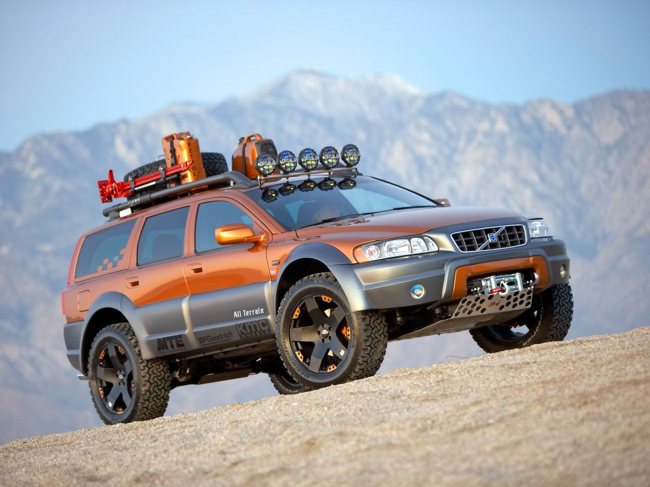 Ipd Project Vehicle For Sema Show 2005 V70 Xc At Off Road Volvos