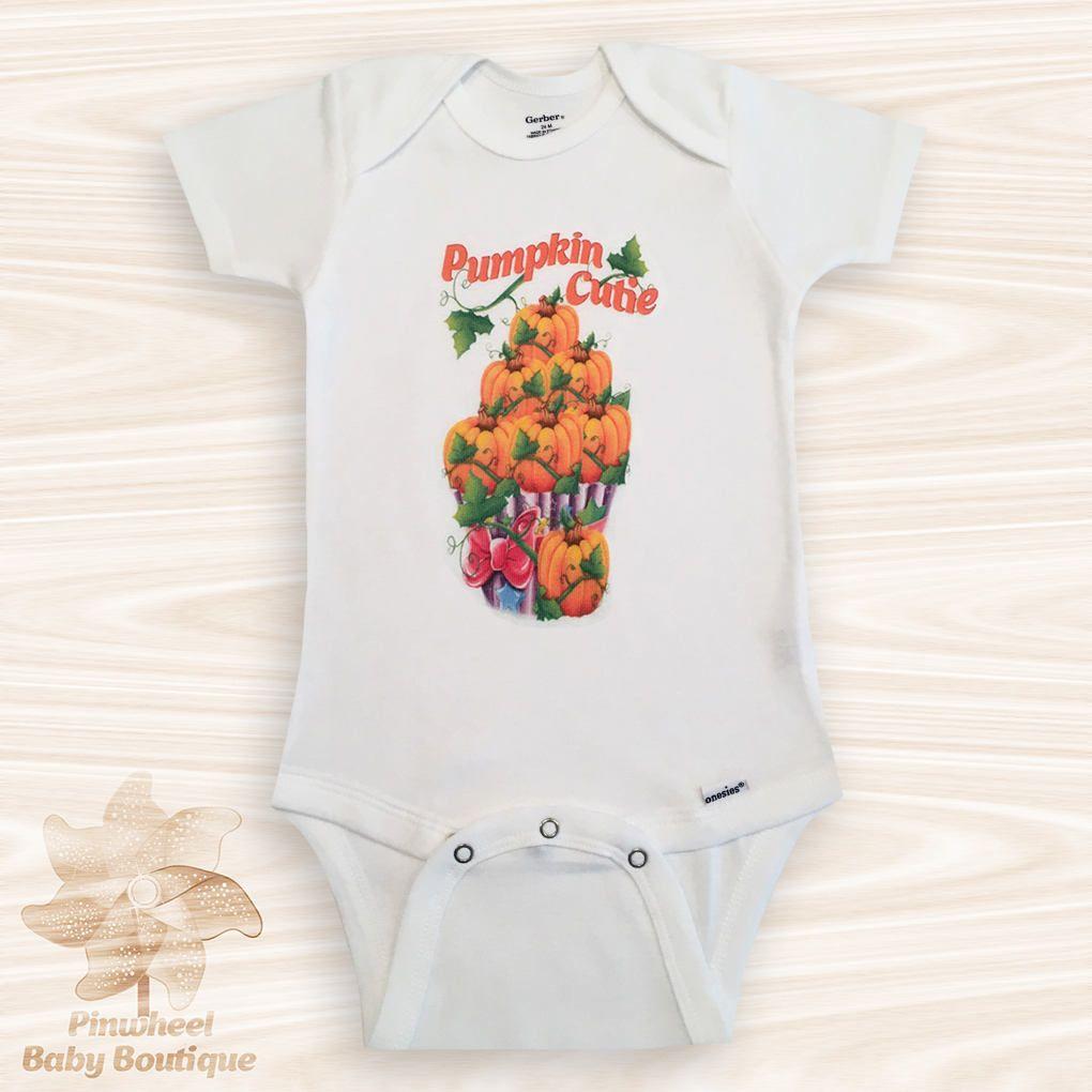 etsy shop: Pumpkin Onesie®, Halloween Onesie, Pumpkin Cutie ...