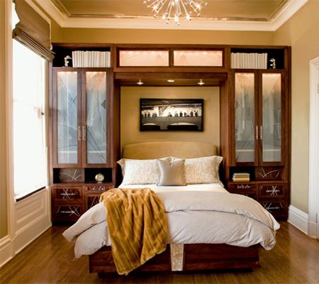Storage ideas for a small main or master bedroom  Laurens house  Pinterest  Storage ideas