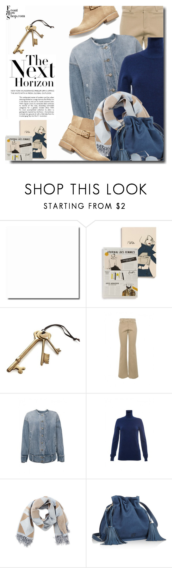 """""""Sunday comfy-front row shop 7"""" by bynoor ❤ liked on Polyvore featuring Rifle Paper Co, Front Row Shop, Crate and Barrel, Loewe, Ray-Ban, Trendy, polyvoreeditorial, styleguide and frontrowshop"""