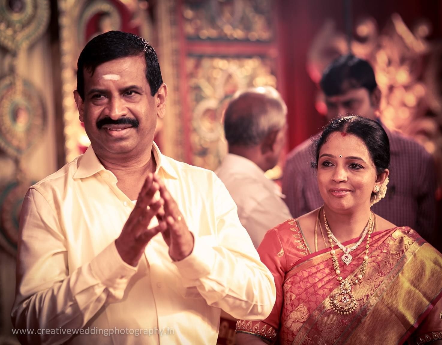 Keerthi Hari Real Wedding Ezwed South Indian Website