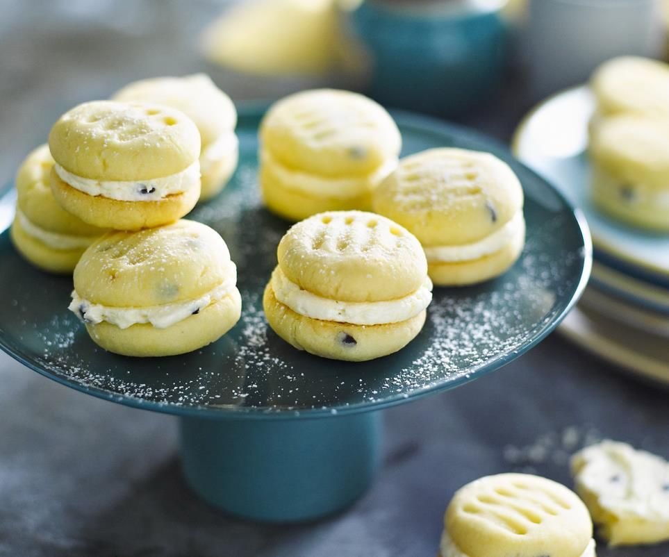 Give Your Melting Moments A Passionfruit Twist Recipe Food Recipes Biscuit Recipe
