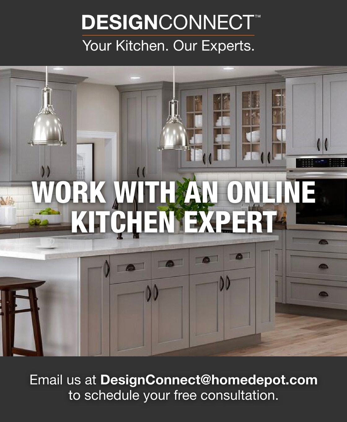 The Home Depot Designconnect In 2021 Diy Kitchen Remodel Kitchen Design Small Kitchen Tools Design