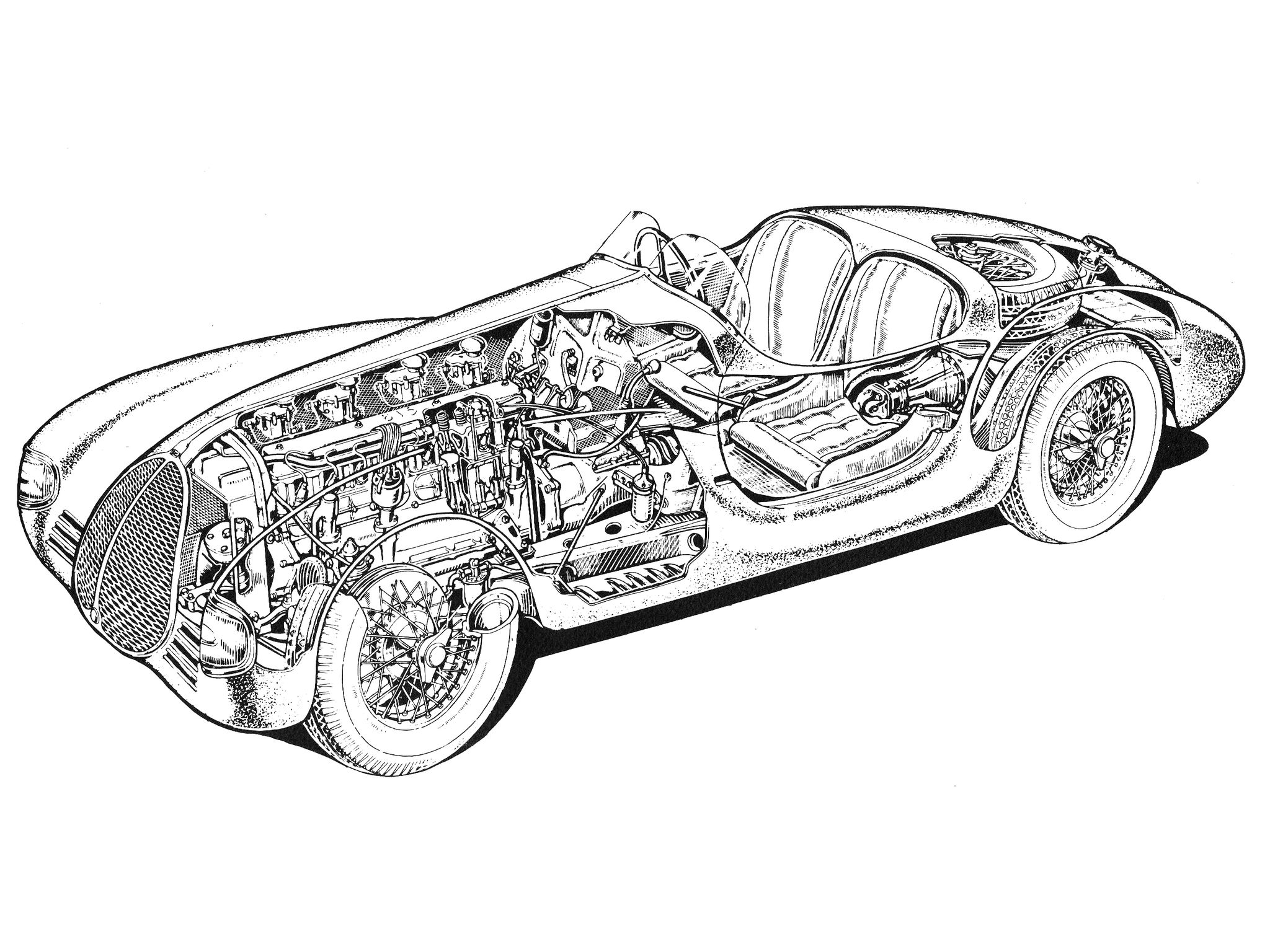 1940 aac tipo 815 illustration credited to giovanni caravara 1965 Ford GT40 1940 aac tipo 815 illustration credited to giovanni caravara