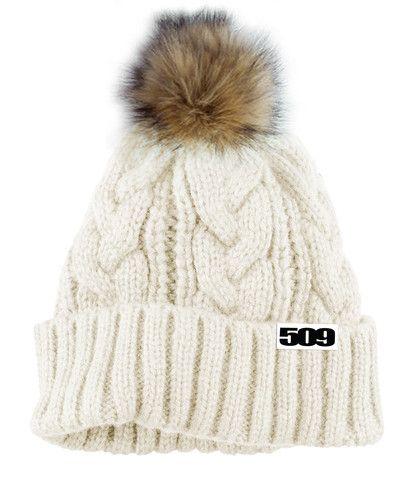 33fbc9ecf27e1 509 Women s Fur Pom Snowmobile Beanie