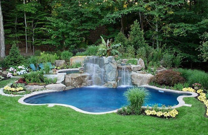 Natural Swimming Pools Design Ideas Inspirations Photos Pool Landscape Design Swimming Pools Backyard Swimming Pool Landscaping