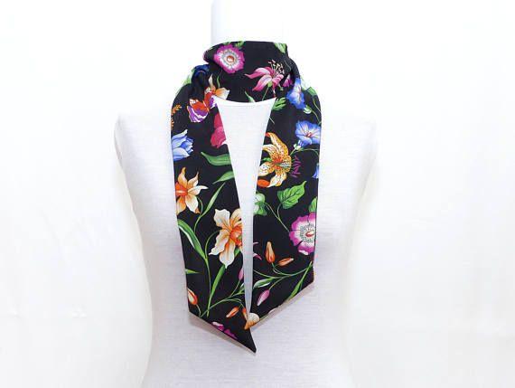 Twill de soie imprimé fleurs Haute Couture d798adb8a4e