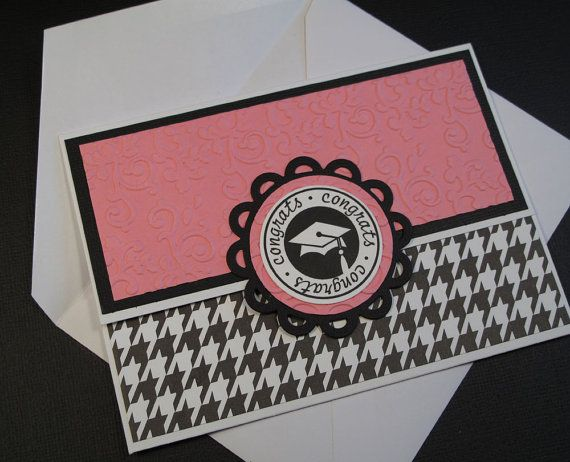 Graduation Card with Giftcard Holder by twopaperpals on Etsy, $3.50