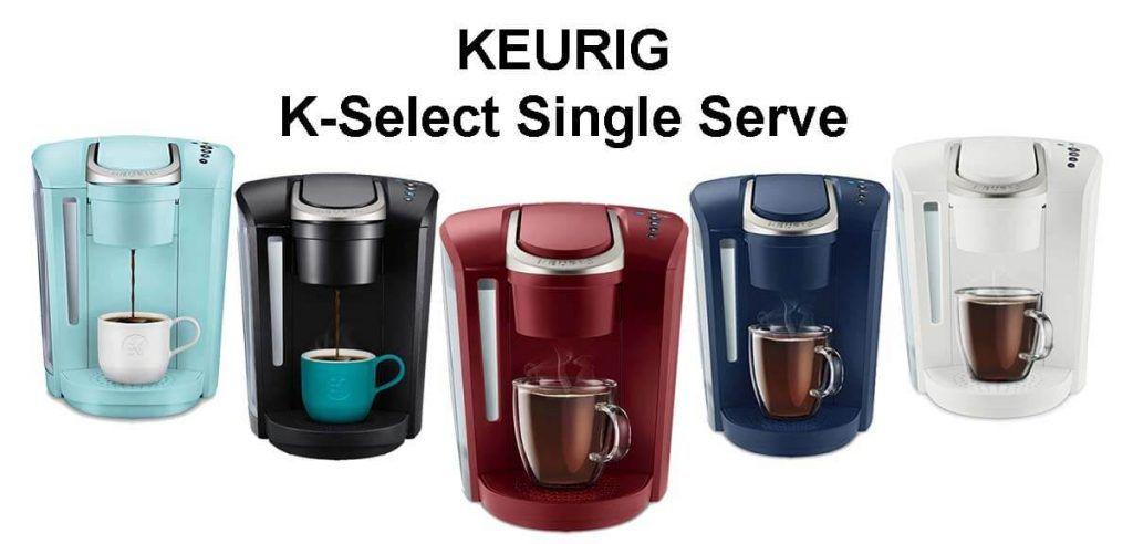 Keurig K Select Best Keurig Coffee Makers Reviews coffee
