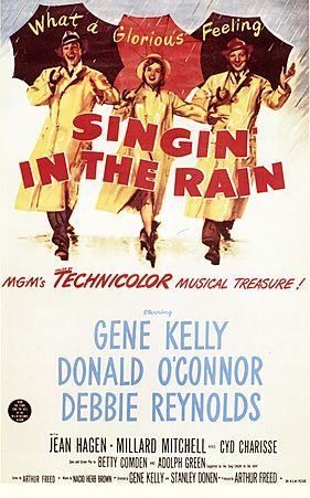 Singing in the Rain. Film Poster. Image Courtesy of The Advertising Archives: www.advertisingar... Vintage, posters, artwork, Retro, Cinema, Films