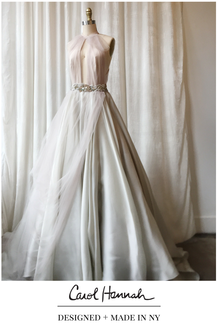 Non Traditional Wedding Dresses Silver