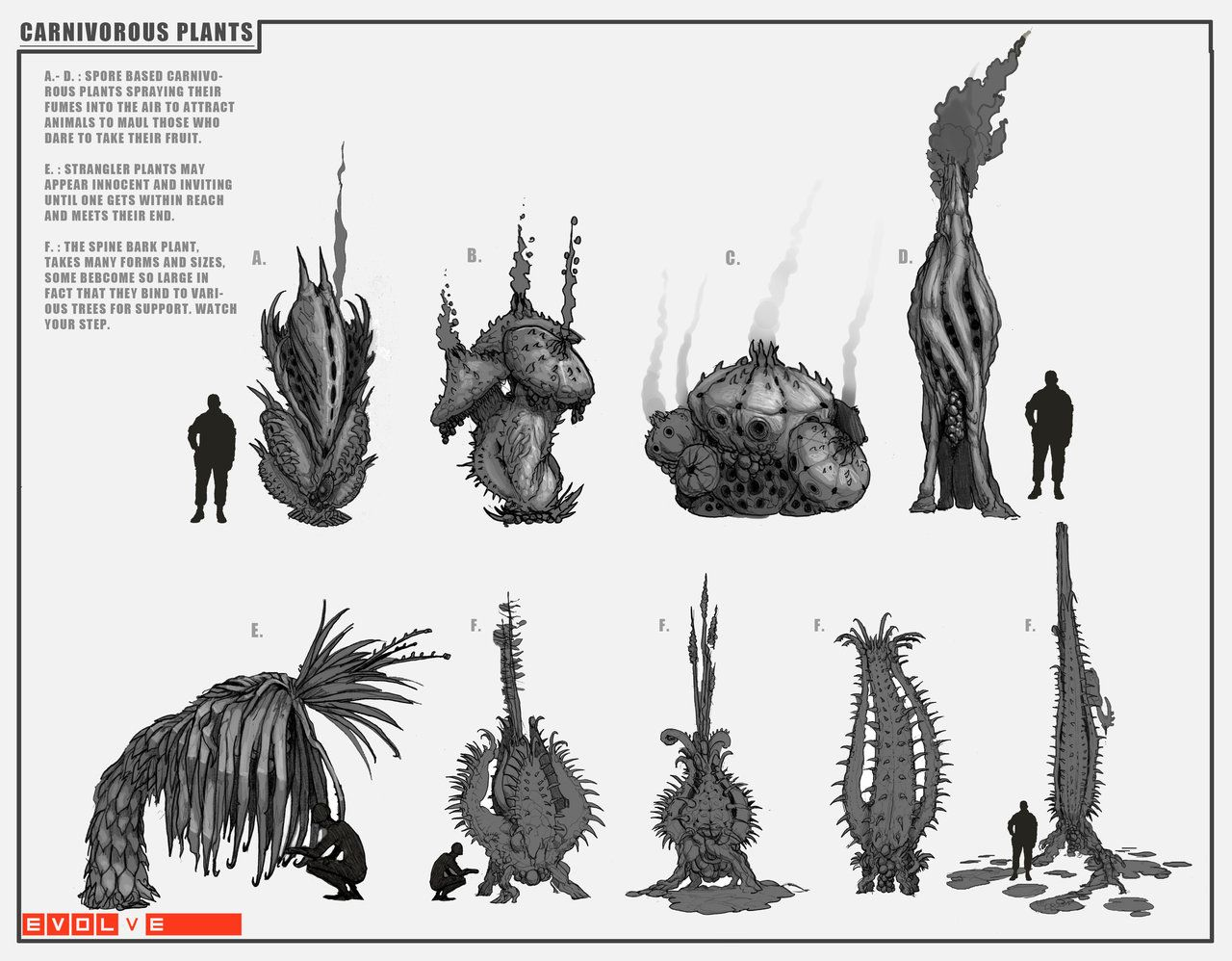 Alien Plants Concept Art | Wiring Diagram Database