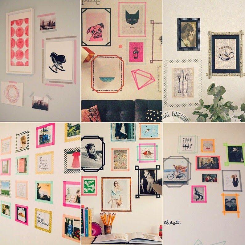 quarto estilo tumblr diy  Pesquisa Google  Comidinhas e decoração  Pintere