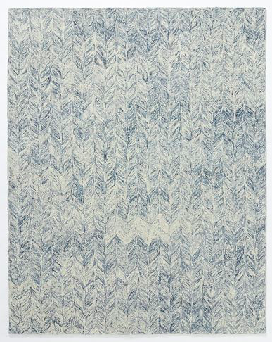 West Elm Vines Wool Rug Blue Lagoon 1 029 Rugs