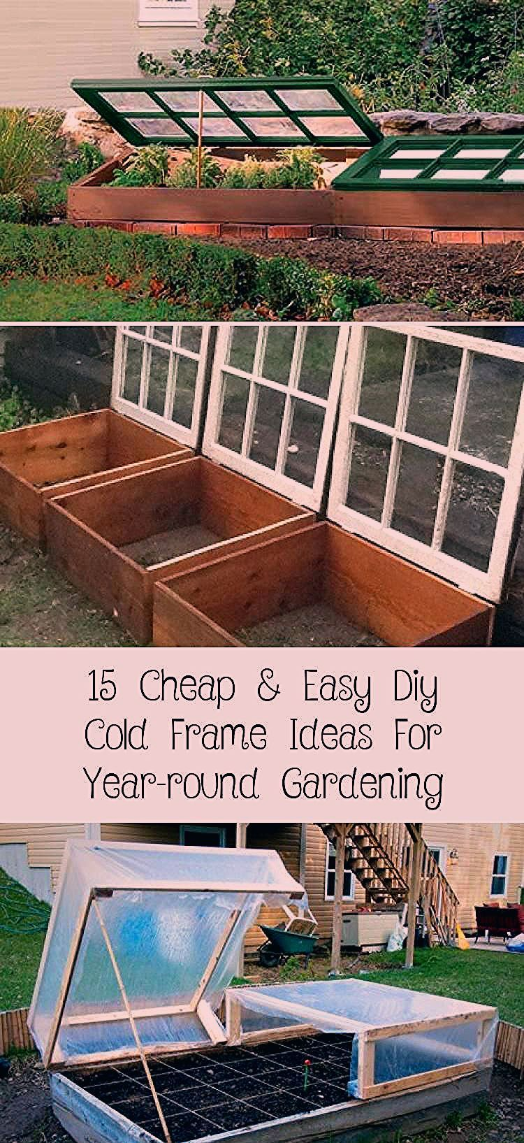 15 günstige und einfache DIY Cold Frame-Ideen für die ganzjährige Gartenarbeit #diygardenIndoor # ..., #Cold #Die #DIY #diygardenIndoor #einfache #FrameIdeen #für #ganzjährige #Gartenarbeit #Günstige #und
