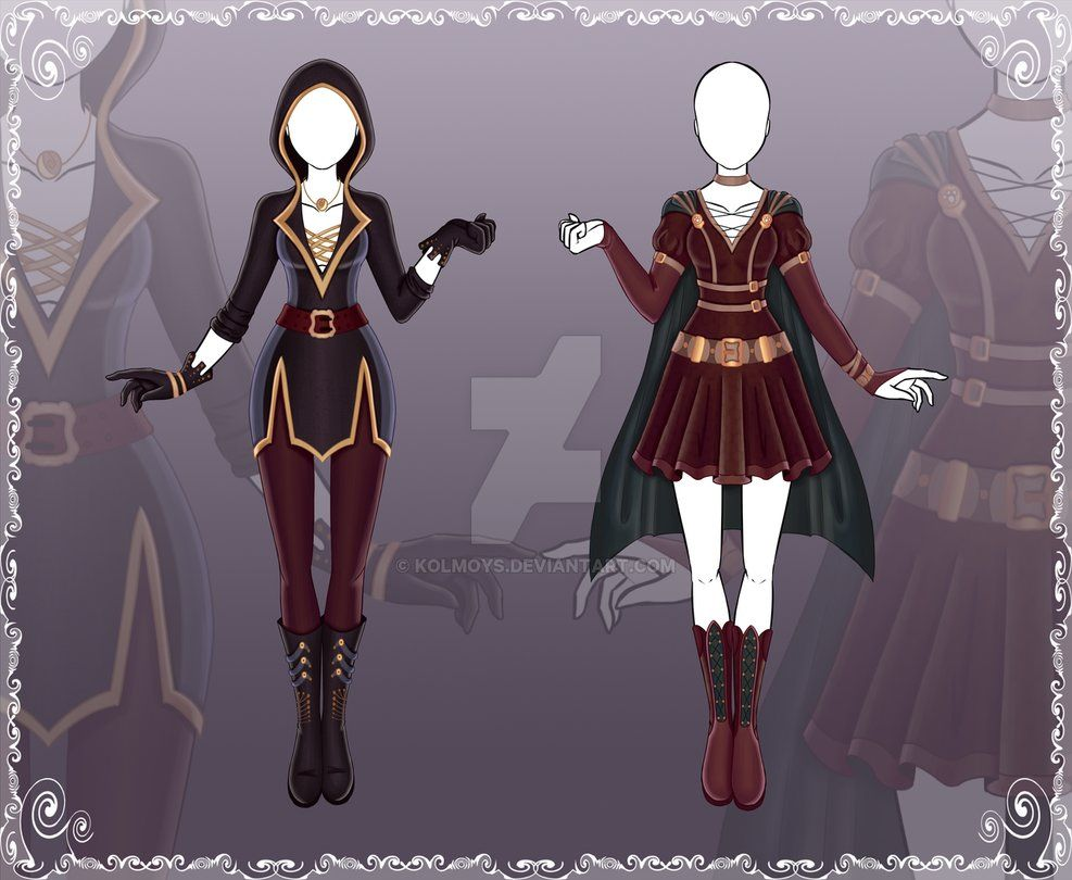 Close Adoptable Outfit Auction 41 42 By Kolmoys Deviantart Com On Deviantart Art Clothes Character Outfits Anime Outfits