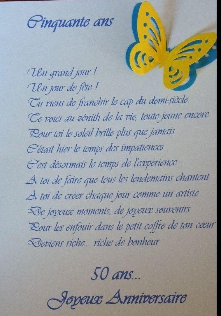 Poeme 50 Ans De Mariage Noces D'or