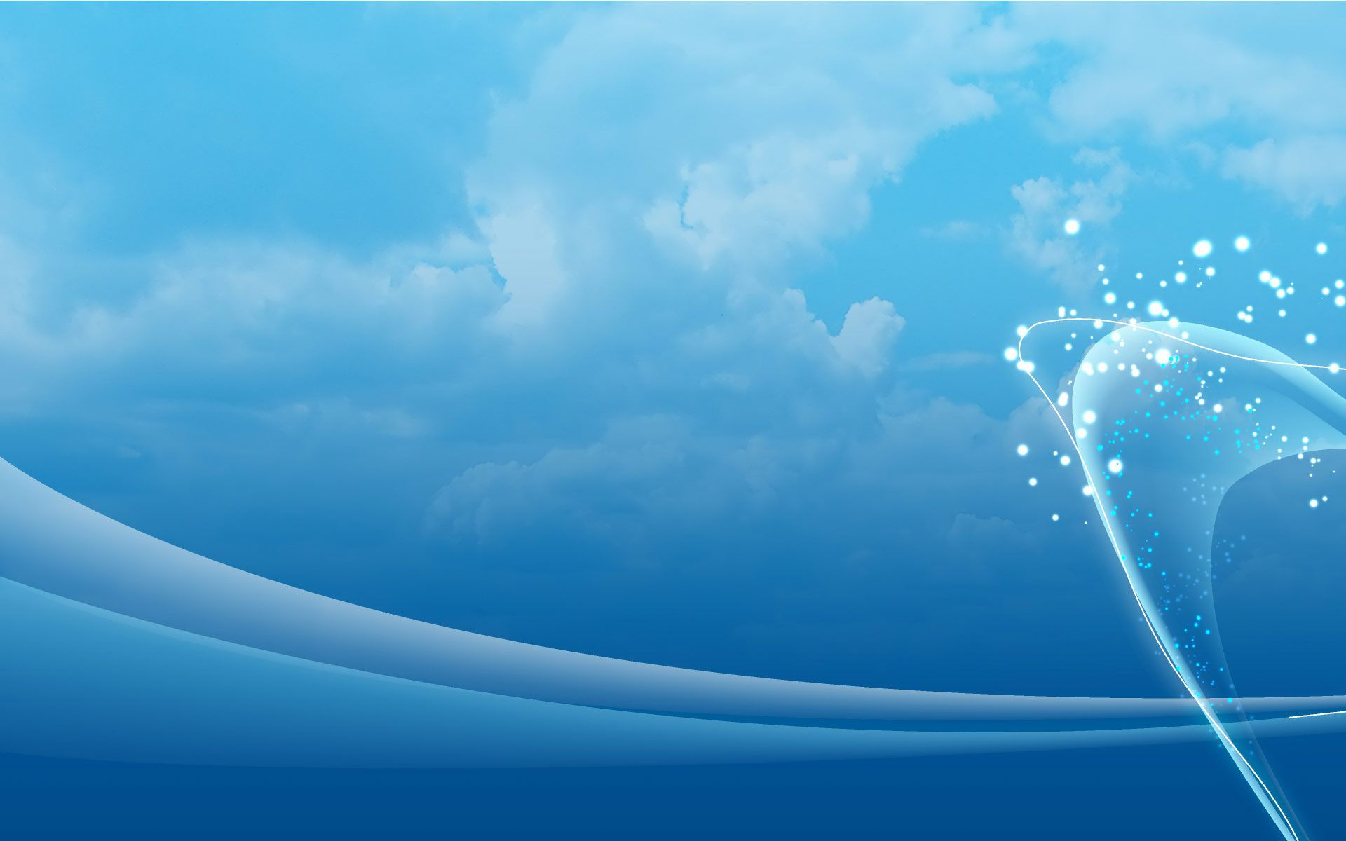 Abstract Blue Sky Blue Background Wallpapers Blue Sky