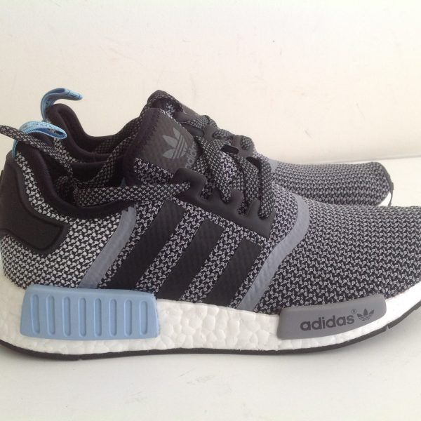Adidas NMD R1 Runner Core Grey Black White Clear S79159 1