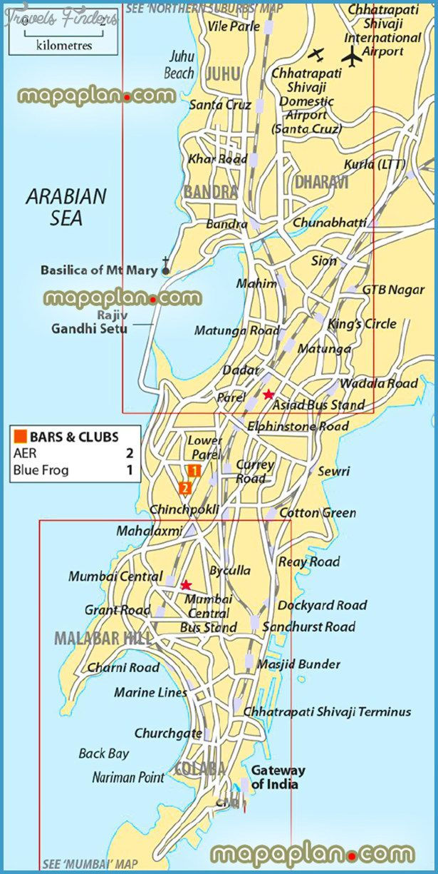 Mumbai Tourist Map Pin by Rohit on Mumbai in 2019 | Mumbai, Tourist map, Map