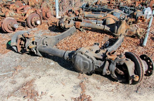 Ford Super Duty Front Dana 60 Axle Photo 71170881 Wrecking Yards