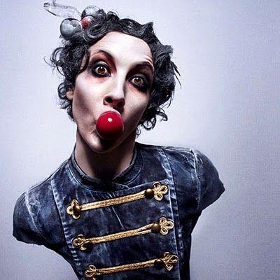 "Performer: Fouzia ""Fofo"" Rakez. Costume by Anna Bonnevier for circus performance, ""Wear It Like A Crown."" photo by Mattias Edwall"