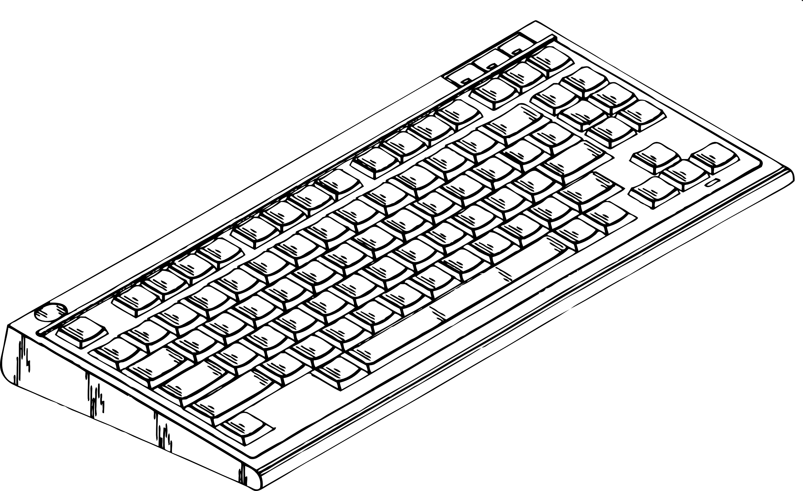 Pin By Clickworks On Colouring Book Keyboard Computer Keyboard Computer