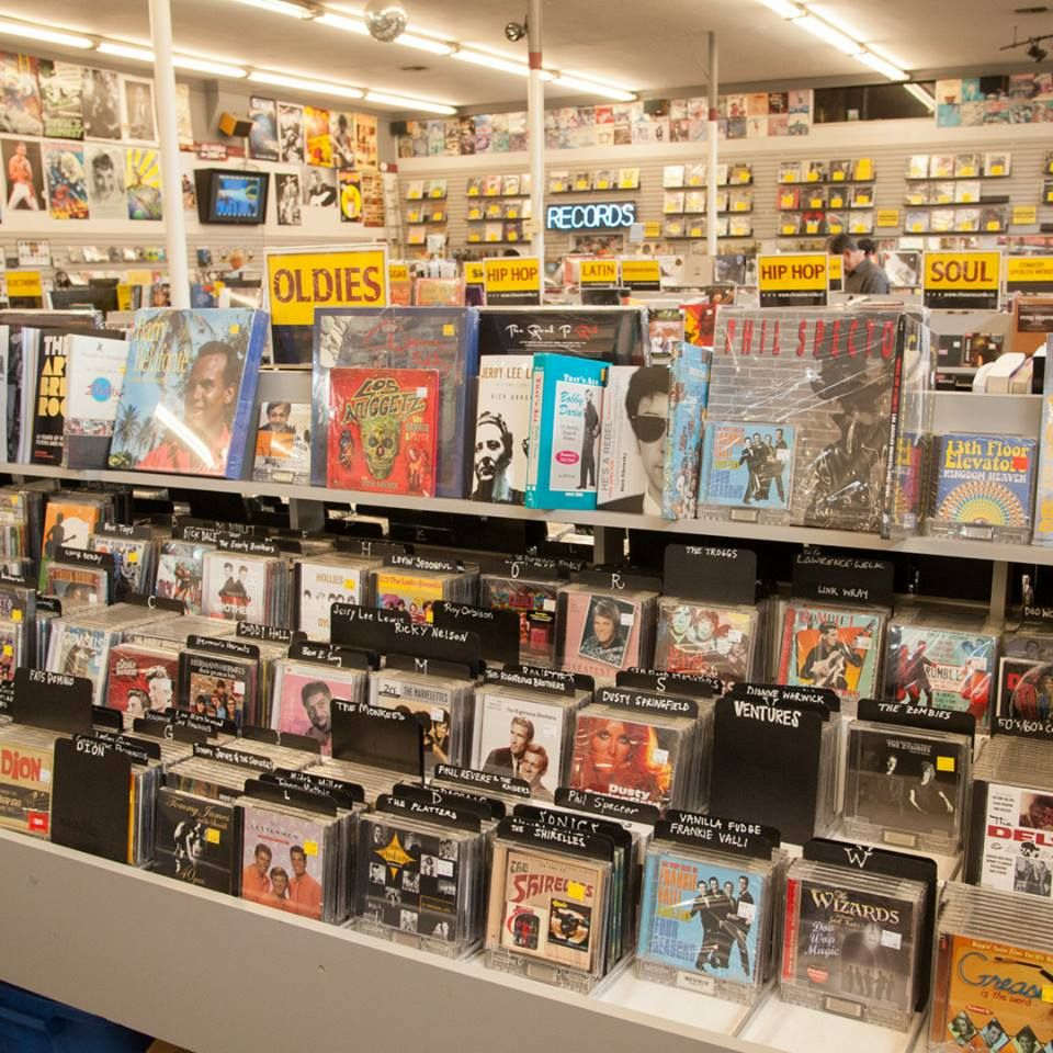So Much Cool Music Swoon At Rhino Records In Claremont Ca Record Store Claremont Good Music