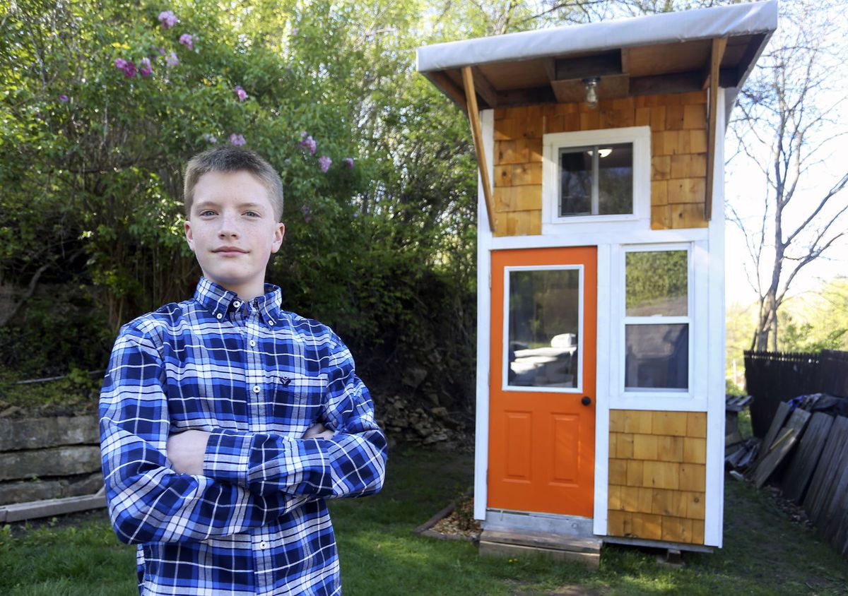 13 Year Old Boy Builder Luke Thill Builds His Own House For