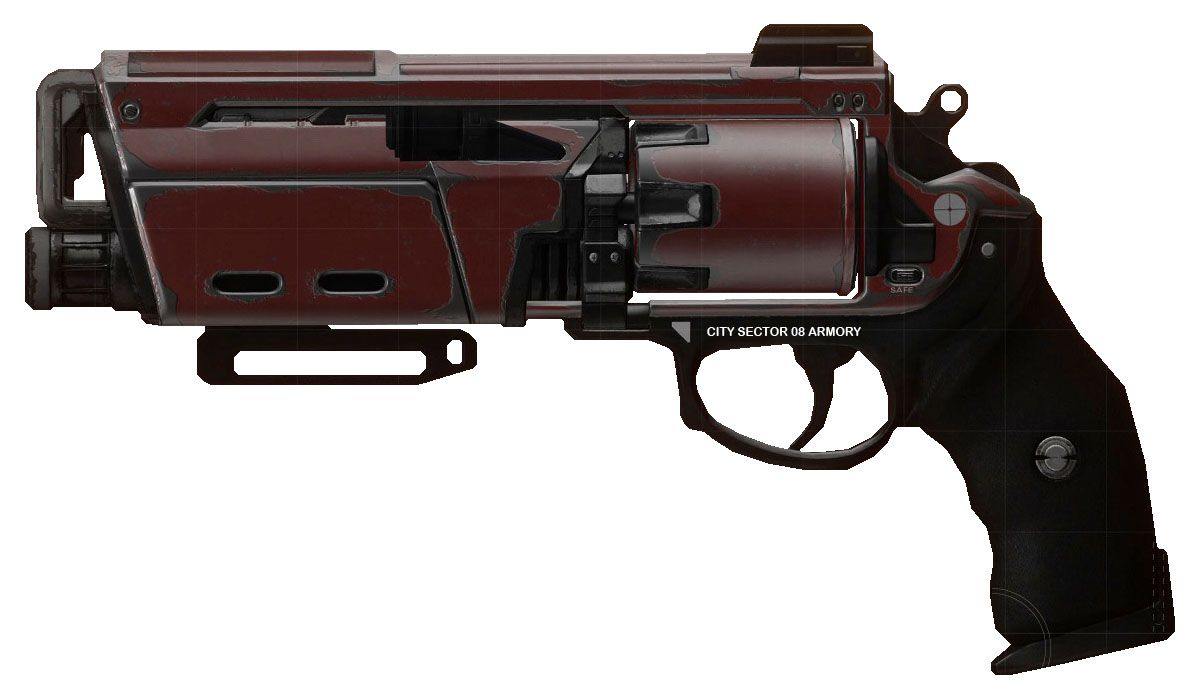 The Duke Mk.44 is a legendary hand cannon featured in Destiny. The weapon inflicts heavy damage to targets as compensation for the slow fire rate... #destiny