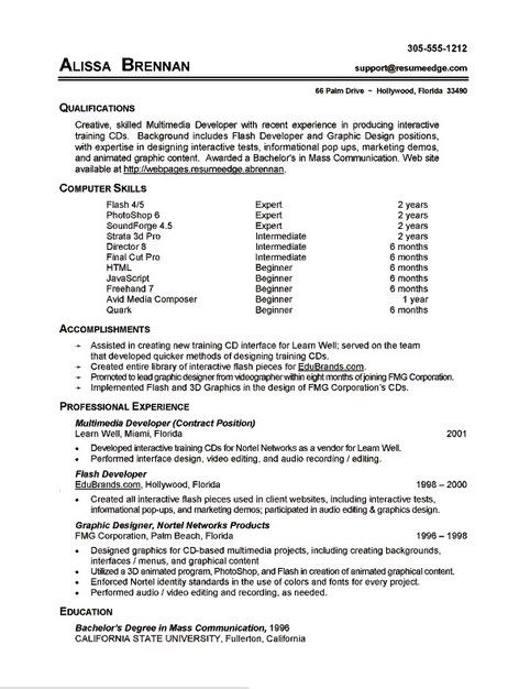 Resume Example Log In Resume Skills Section Job Resume Examples Computer Skills Resume