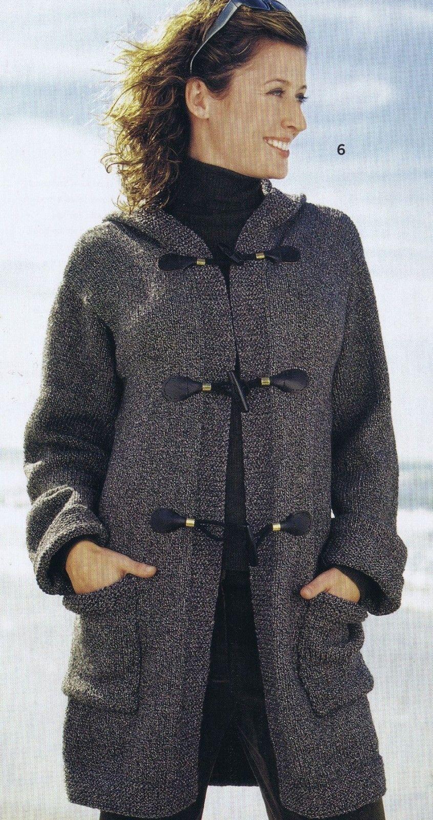 Vogue knitting patterns cardigan stole pullover coat jacket vest ...