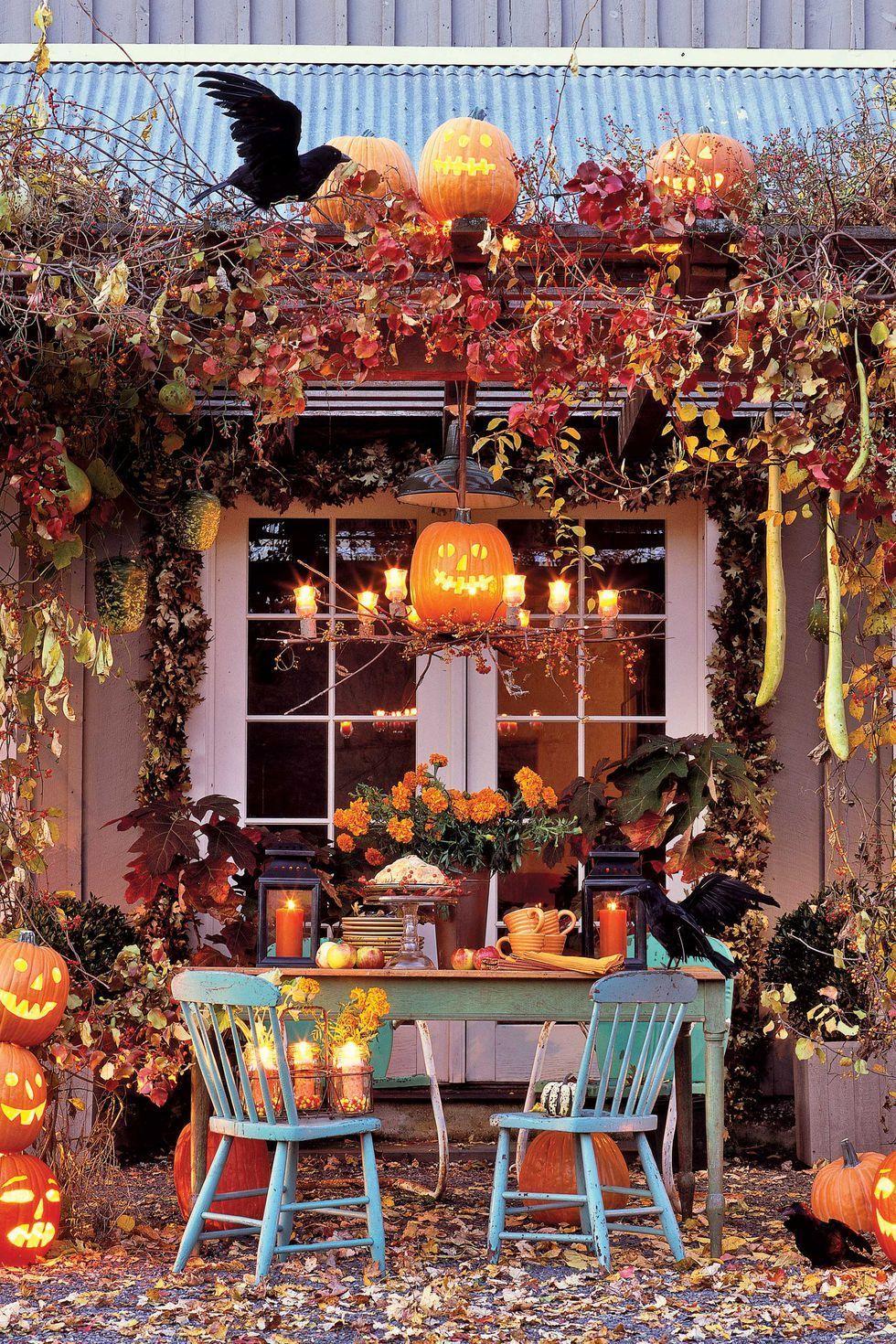 30+ Best Outdoor Halloween Decoration Ideas - Easy Halloween Yard - halloween decoration ideas for yard