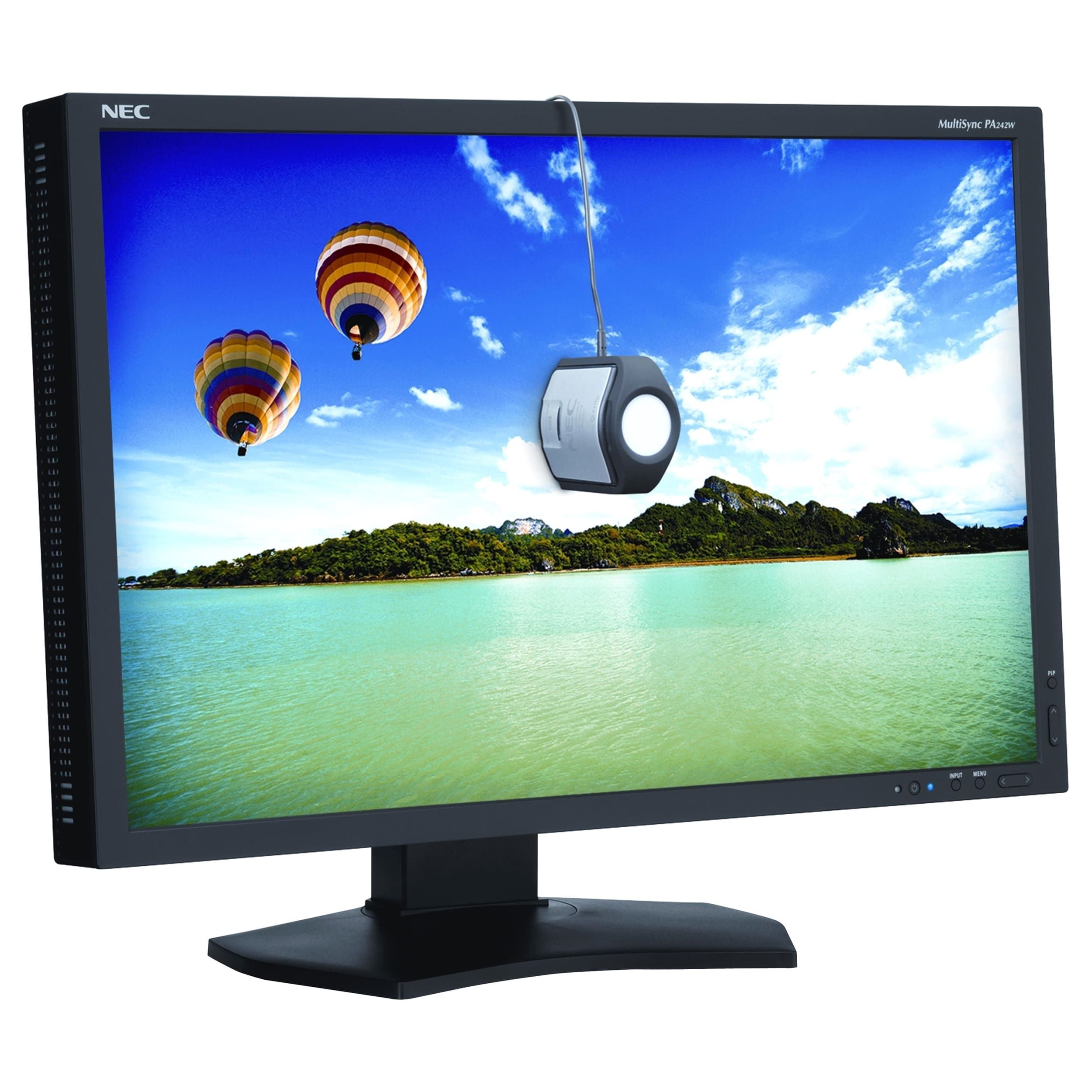 NEC Display PA242W BK SV 241 LED LCD Monitor