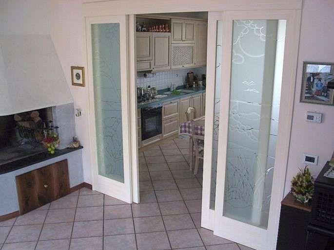 Cucina e soggiorno separati | Arredamento interni | Pinterest ...