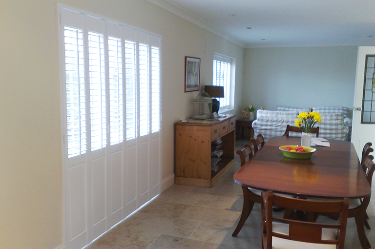 Solid panels shutters by plantationshutters london uk - Solid panel interior window shutters ...