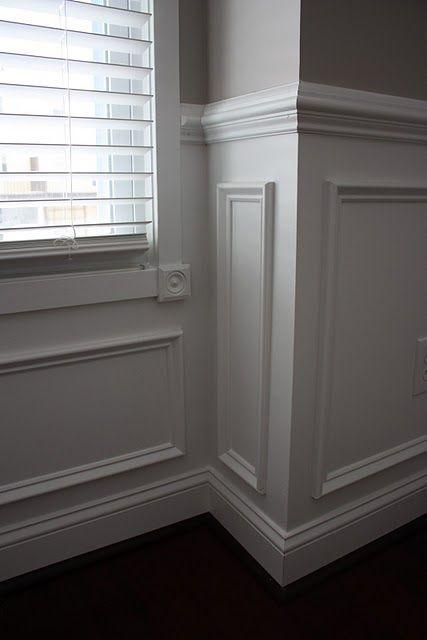 great molding - chair rail
