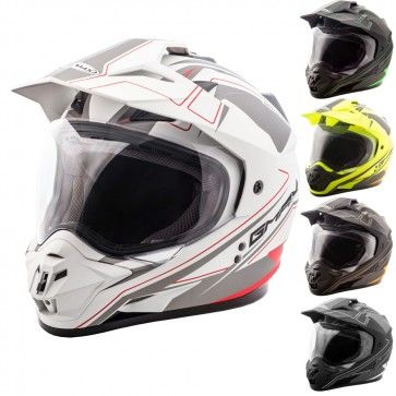GMAX GM11 Expedition Helmet Motorcycle Street Bike Dual Sport Offroad