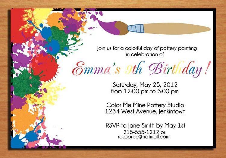 birthday invitation card online