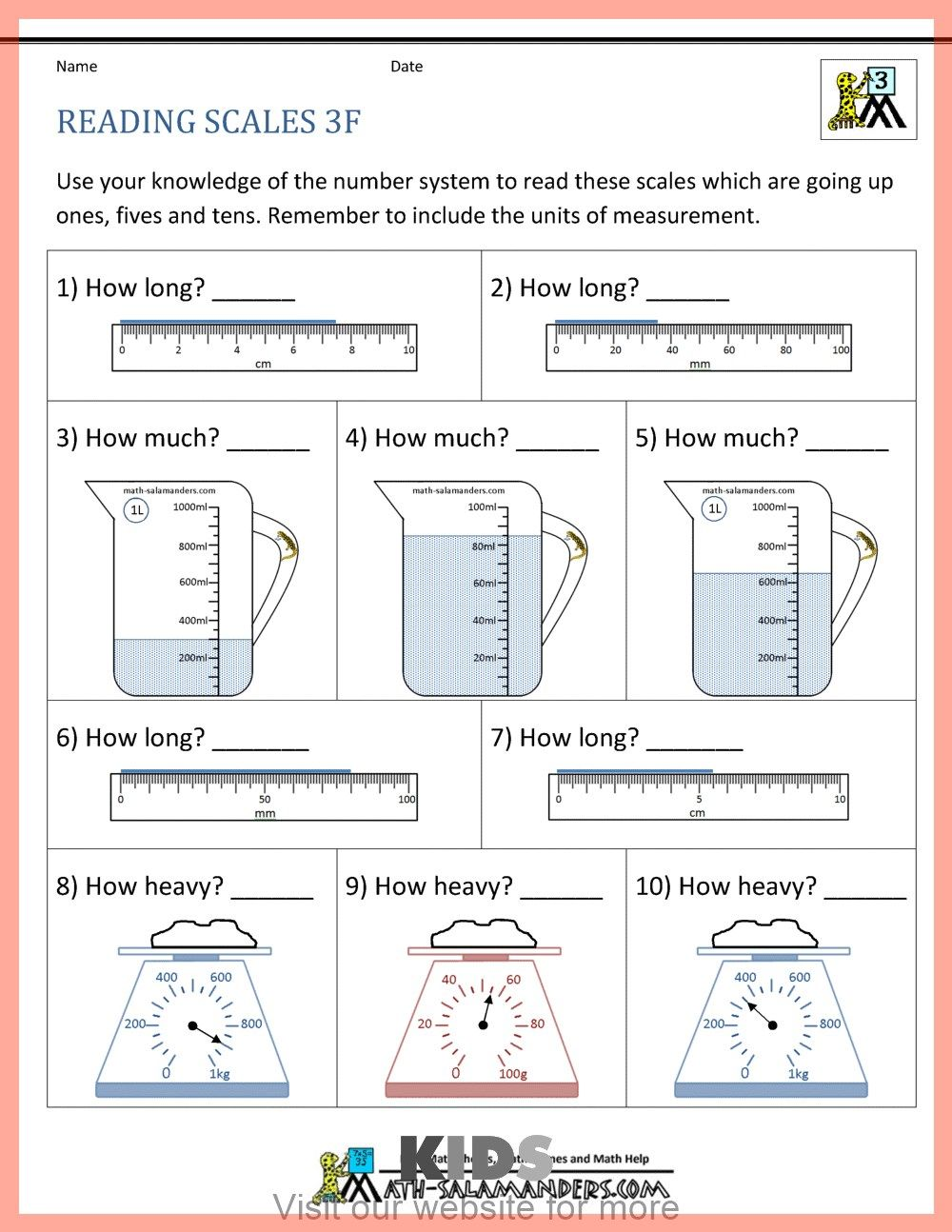 Preschool Coloring Pages Alphabet In 2020 Measurement Worksheets 4th Grade Math Worksheets Third Grade Math Worksheets