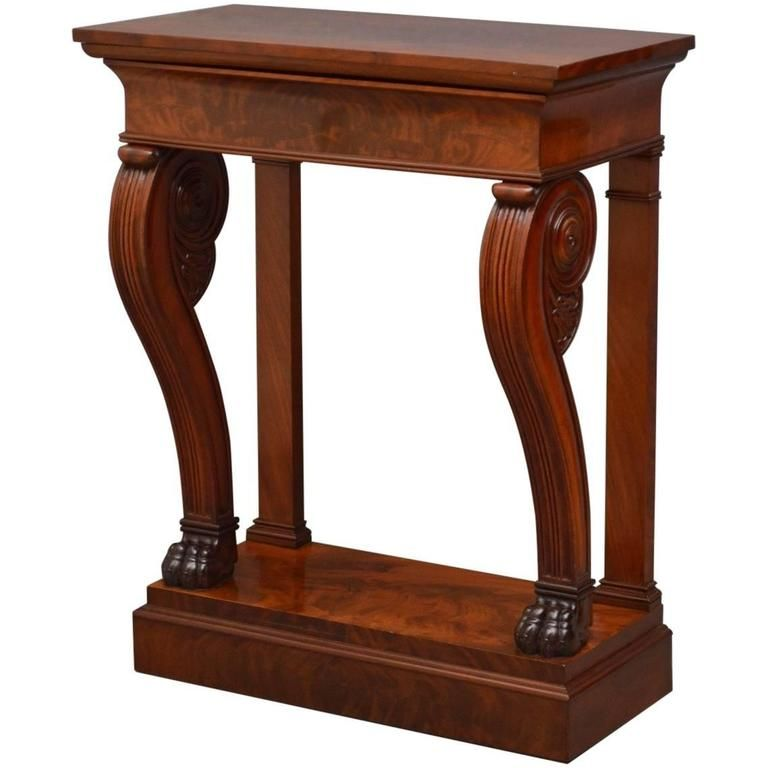 1stdibs Mahogany William Iv Console Table In 2020 Console Table Table Wine Table