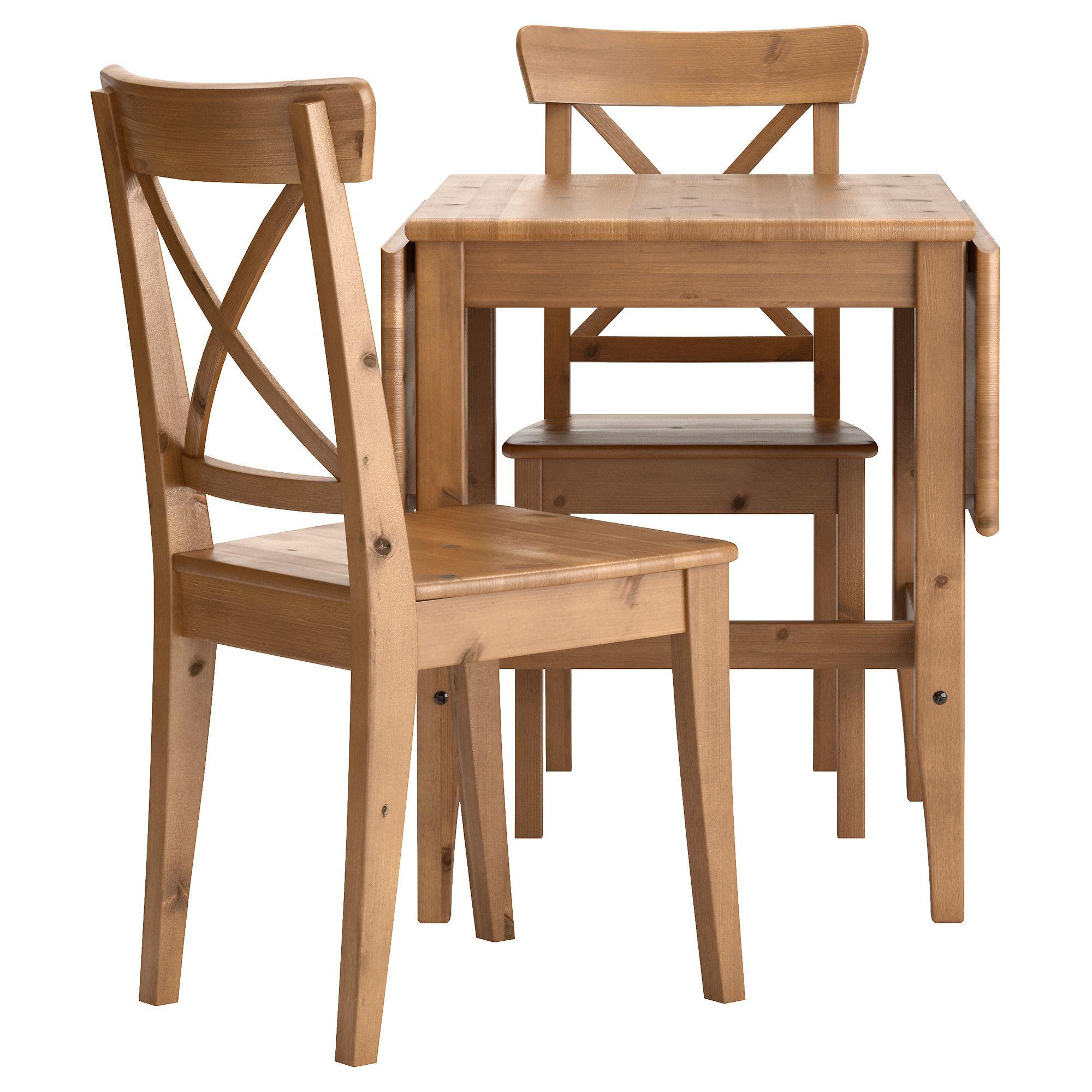 LEKSVIK/INGOLF Mesa y dos sillas - IKEA | Home & deco | Pinterest ...