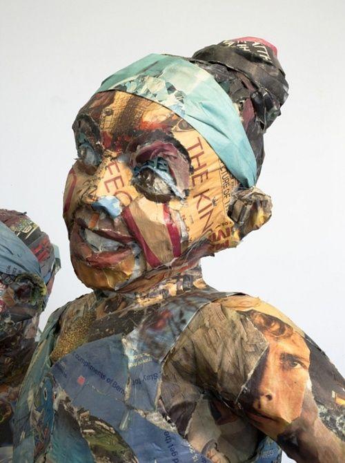 Will Kurtz  #WillKurtz #art #sculpture #paper art #crafts