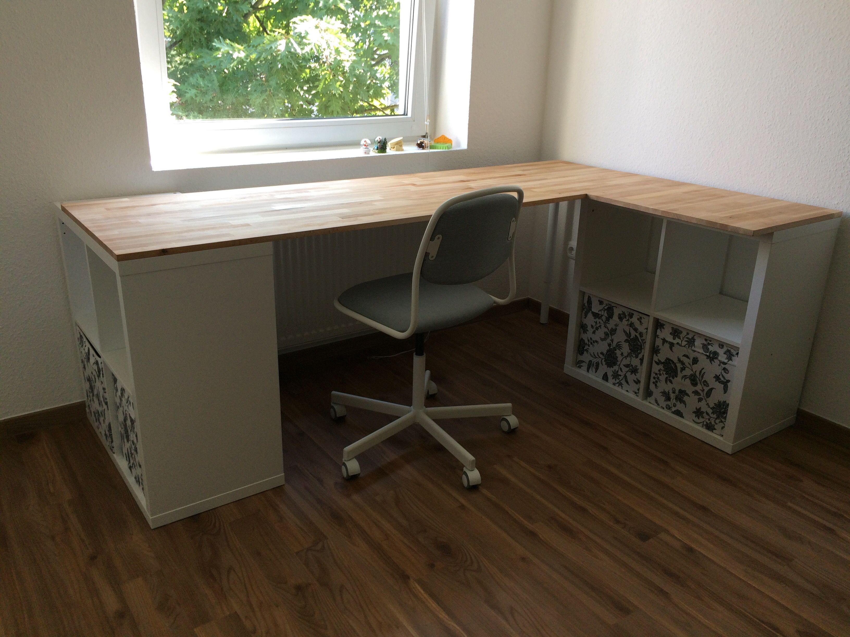 Ikea Schreibtisch Holz 2021