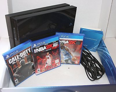 Sony PlayStation 4 (Latest Model)- 500 GB Black Console Comes with 3 games https://t.co/3gHYkJqsyE https://t.co/z8B9u4sHtd