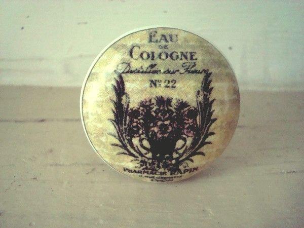 Bouton de porte en porcelaine  - poignee de porte porcelaine ancienne