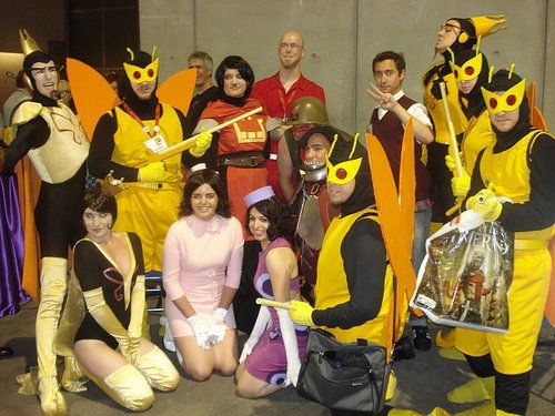 The Venture Brothers group! San Diego Comic Con 2009